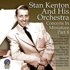 Stan Kenton & His Or - Concerts in Miniature 8 [New CD]