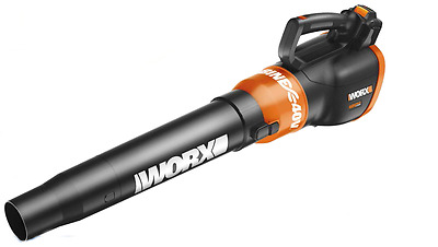 WORX 40V Cordless Air Turbine Leaf Blower 2-Speed Powershare (WG580)