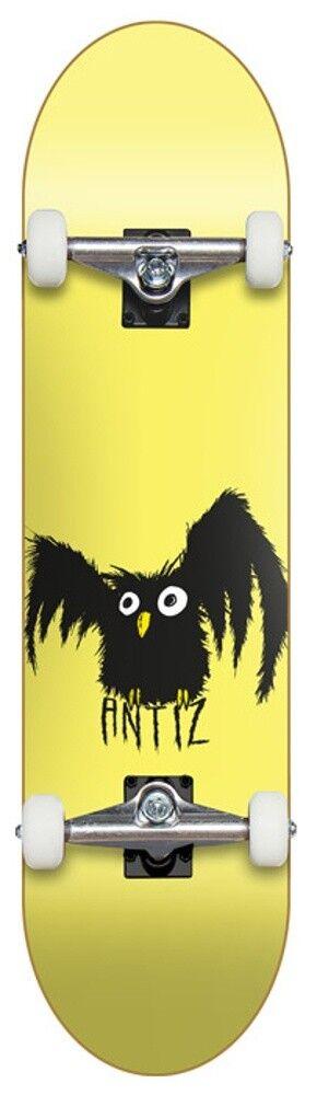ANTIZ Owl Gelb 8 0    -  Skateboard Komplett 1652e0