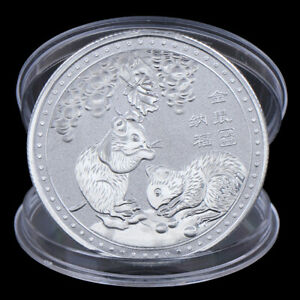 Jahr-der-Ratte-Herausforderung-Muenze-Chinesisches-Sternzeichen-Andenkenmuenze