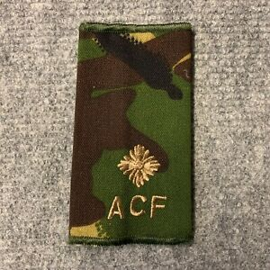 BRITISH-ARMY-SURPLUS-ACF-SECOND-LIEUTENNANT-DPM-RANK-SLIDE-UNIFORM-PARADE-CADET