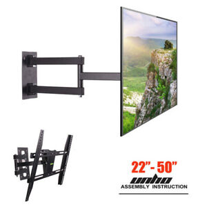 22 50 inch vesa tv wall mount corner tv bracket extended. Black Bedroom Furniture Sets. Home Design Ideas