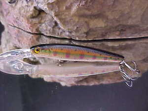 Interrompu-River-2Sea-3-8oz-orale-88-Minnow-mispen-couleur-88SU-HA05-Brown-Trout