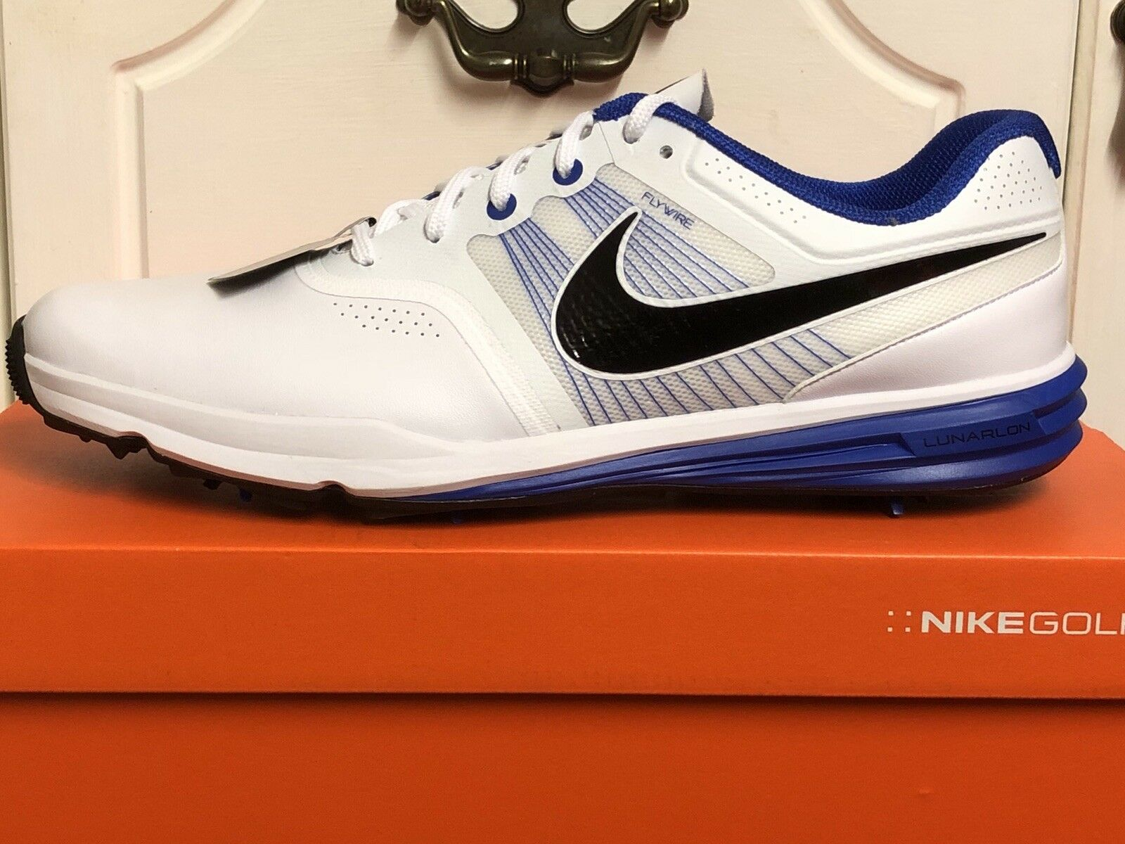 NIKE LUNAR COMMAND MENS TRAINERS SNEAKERS GOLF SHOES US 13