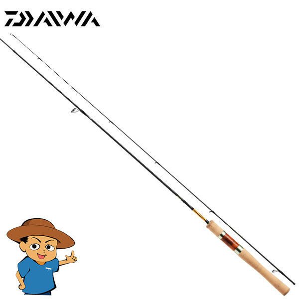 Daiwa PRESSO V 62XUL V Extra Ultra Light  6'2 trout fishing spinning rod  design semplice e generoso