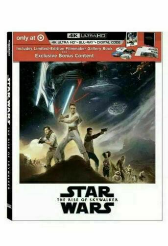 Star Wars: Rise of Skywalker Exclusive (4K Blu-Ray, Blu-raty, Digital Copy)
