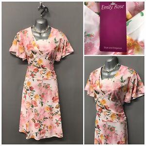 BNWT-Emily-Rose-Pink-Floral-Dress-UK-18-EUR-46-US-14