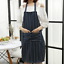 Kitchen Apron with Pockets Apron for Men /& Women 100/% Fabric Chefs Apron