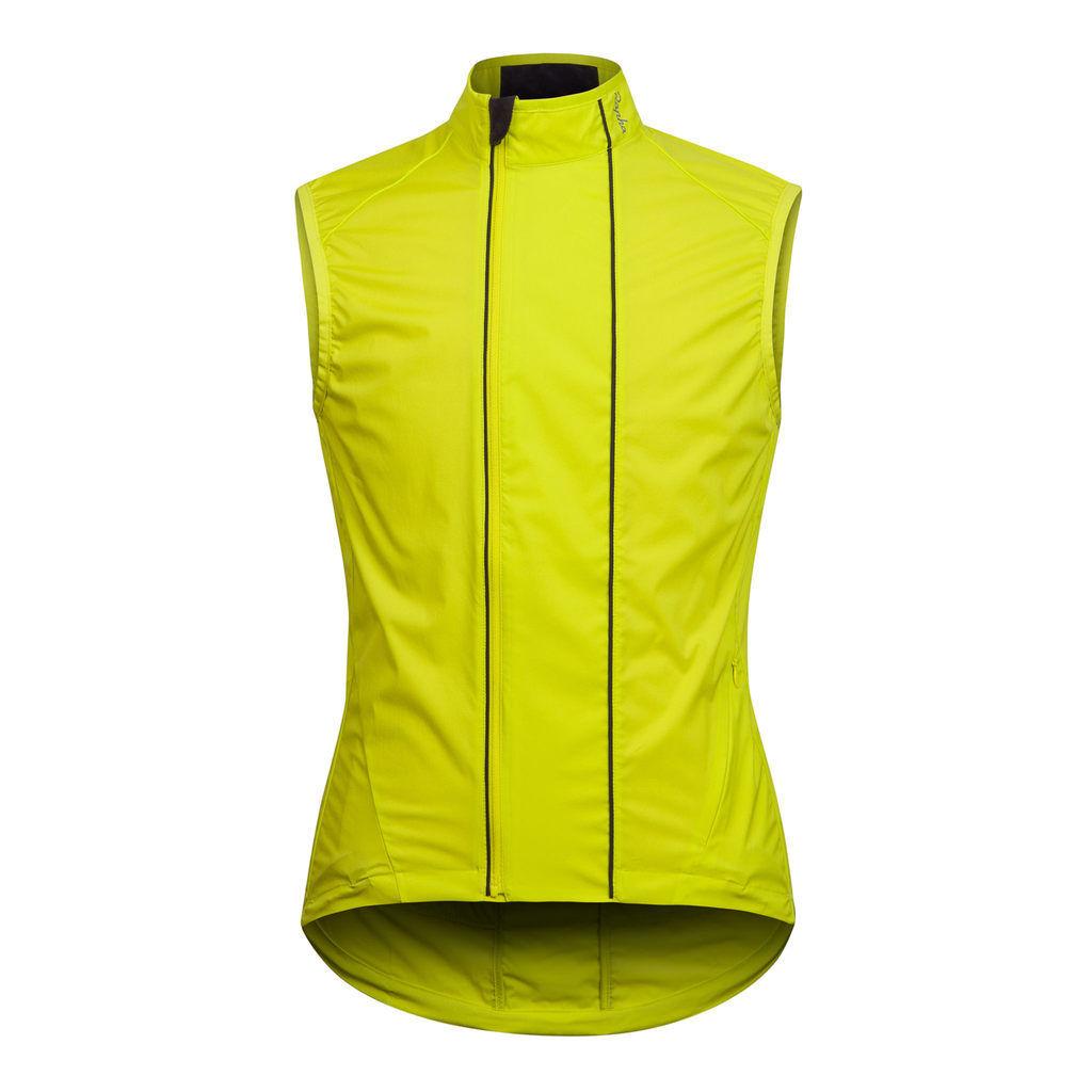 Rapha Mark 1 a prueba de viento Ciclismo Chaleco Chartreuse Tamaño Medio Bnwt