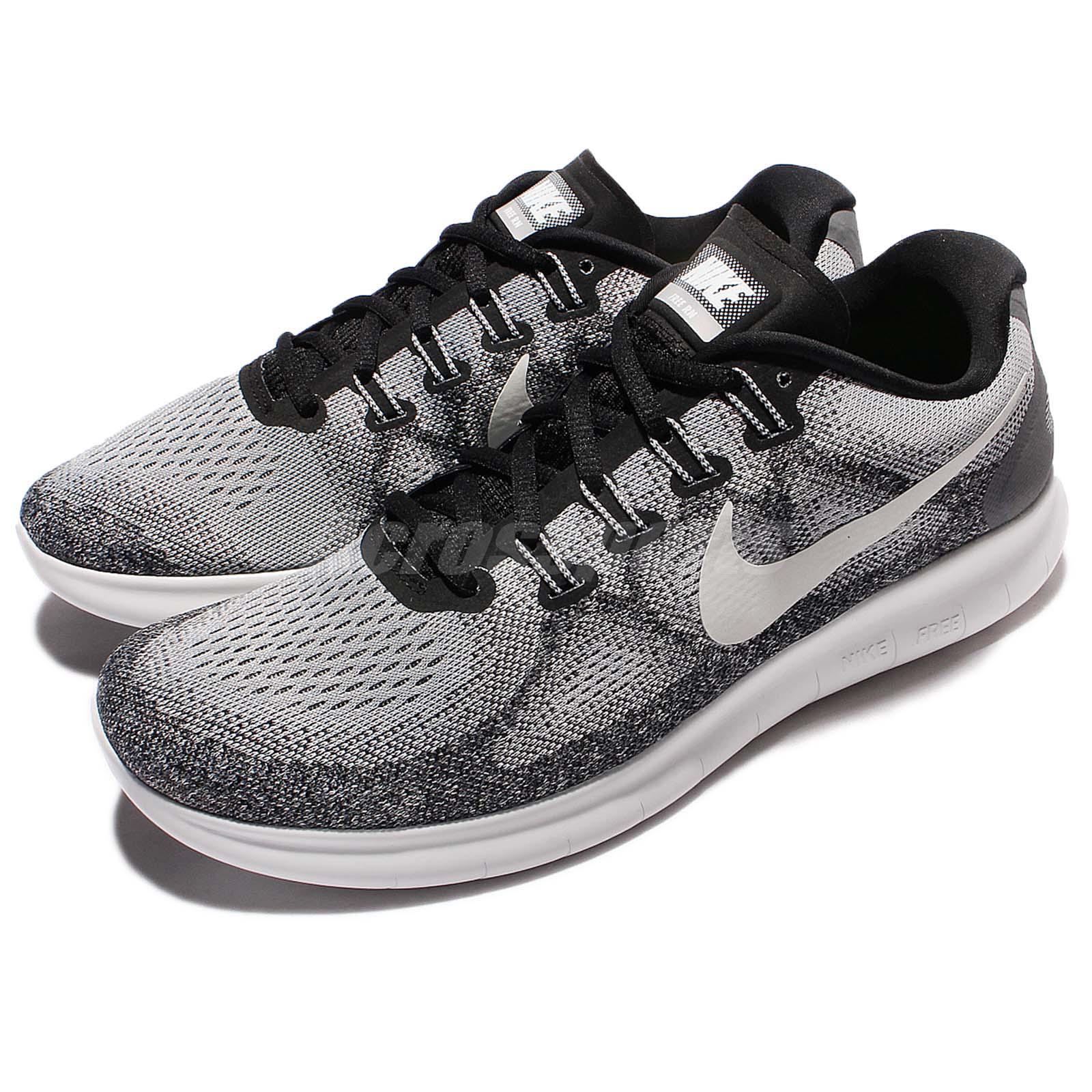 Nike Nike Nike Free RN 2017 Run grigio bianca Uomo Running scarpe scarpe da ginnastica Trainers 880839-002 04cb70