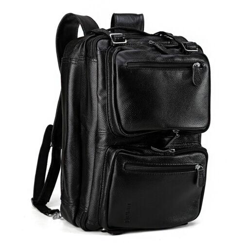 Sac 14''laptop en homme à dos à bandoulière cuir noir pour zLUSMVpGq