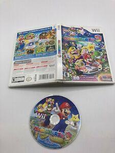 Nintendo Wii Disc CASE No Manual Tested Mario Party 9