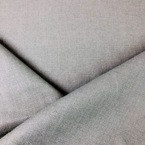 100/% BELGIAN LINEN UPHOLSTERY FABRIC CHALET CEMENT  BY THE YARD