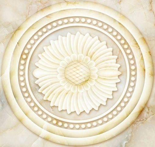 3D Simple Elegant Flower Floor WallPaper Murals Wall Print Decal 5D AJ WALLPAPER