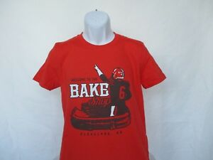 pretty nice f508c b3da6 Details about Baker Mayfield Cleveland Browns Welcome To Bake Shop Football  Orange S-3XL New