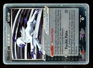 POKEMON-POWER-KEEPERS-HOLO-N-92-108-ABSOL-EX-Mint-Condition-Very-RARE