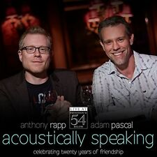 Adam Pascal, Anthony - Acoustically Speaking - Live at Feinstein's / 54 Below [N
