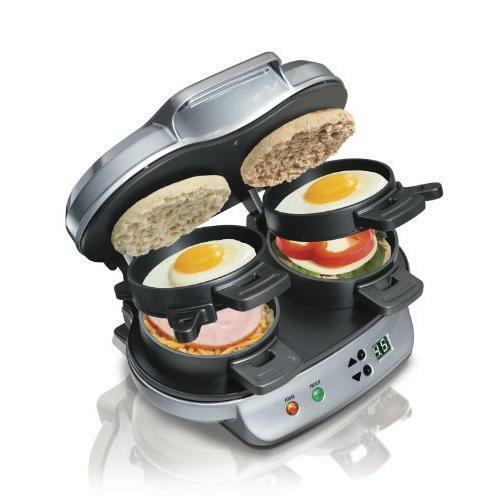 Hamilton Beach 25490A Dual Breakfast Sandwich Maker New