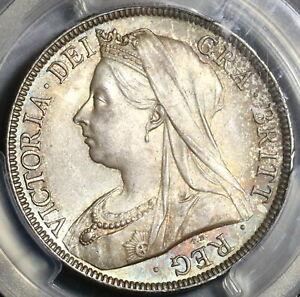 1895-PCGS-MS-65-Victoria-1-2-Crown-Great-Britain-Silver-Coin-20020501C