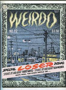 Weirdo-12-Winter-1985-Robert-Crumb-underground-comix-MBX90