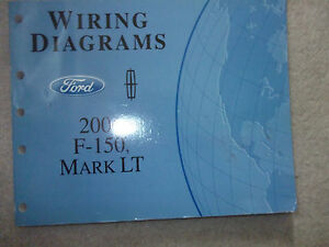 2006 Ford F-150 F150 Lincoln Mark LT Electrical Wiring ...