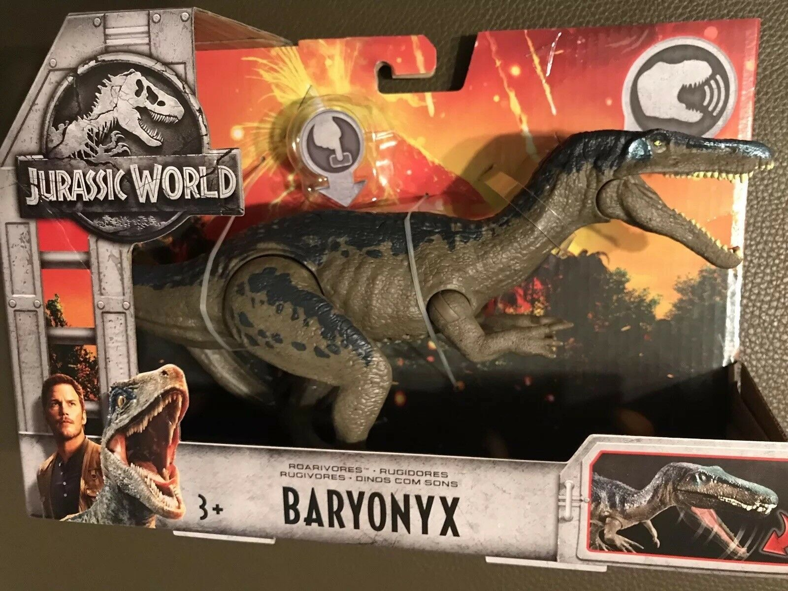 Brand NEW Jurassic World Fallen Kingdom Roarivores Baryonyx Figure