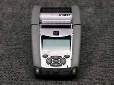 Zebra Qln220 Thermal Mobile Barcode Label Printer Working