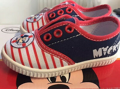 Mickey Mouse Jungen Schuhe Sneaker leichte Schuhe ANGEBOT Gr 23 bis 30