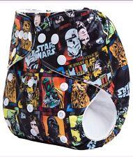 Star Wars Jedi Sith Wookie Solo Pocket Cloth Diaper Nappy Washable Adjustable