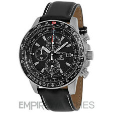 *NEW* SEIKO PROSPEX FLIGHTMASTER ALARM PILOT SOLAR WATCH - SSC009P3 - RRP £250