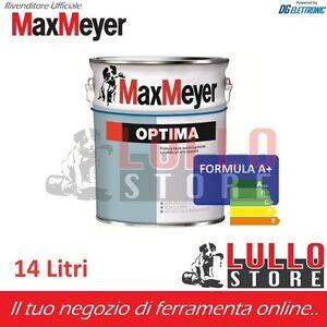 Maxmeyer Optima A Pittura Murale Per Interno Lavabile 14 Lt Bianco O Colori Ebay