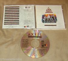 AXXIS Access all Areas Live CD 1991 Original EMI Kingdom Big Thrill Matters Back