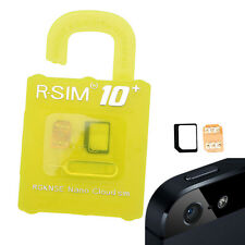 RSIM Nano R-SIM10+ Plus Cloud Unlock Card For iPhone 7/7+/6/6+/6s/5/5S/5C 4G LTE