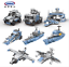 Xingbao-Building-Blocks-Warship-Military-Future-Dreamer-Giant-Excavator-Police thumbnail 4