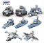 Bausteine Kriegsschiff Militär Spielzeug DIY Kinder Modell Geschenk 8in1 OVP