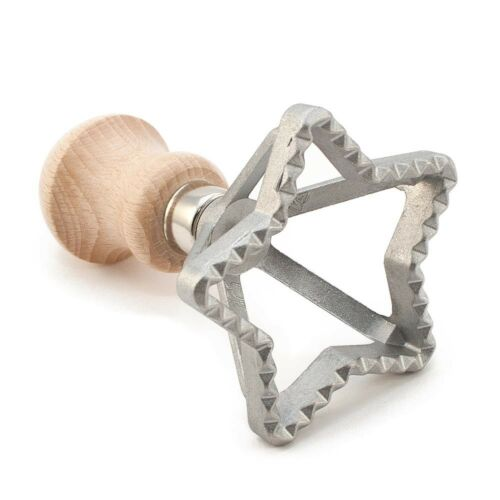 Ravioli Tortellini Pasta Hand Cutter Press Stamp Square Round Circle Triangle
