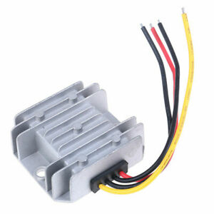 DC-DC-STEP-DOWN-BUCK-CONVERTER-24V-TO-12V-10A-120W-TRUCK-CAR-W-PROOF-HEATSINK