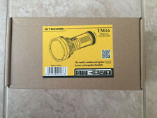 NEW NITECORE TM16 4000 LUMENS LED FLASHLIGHT with 700 Meters shooting range