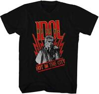 Billy Idol Hot In The City Punk Rock Hard Rock Singer Songwriter Adult T-shirt