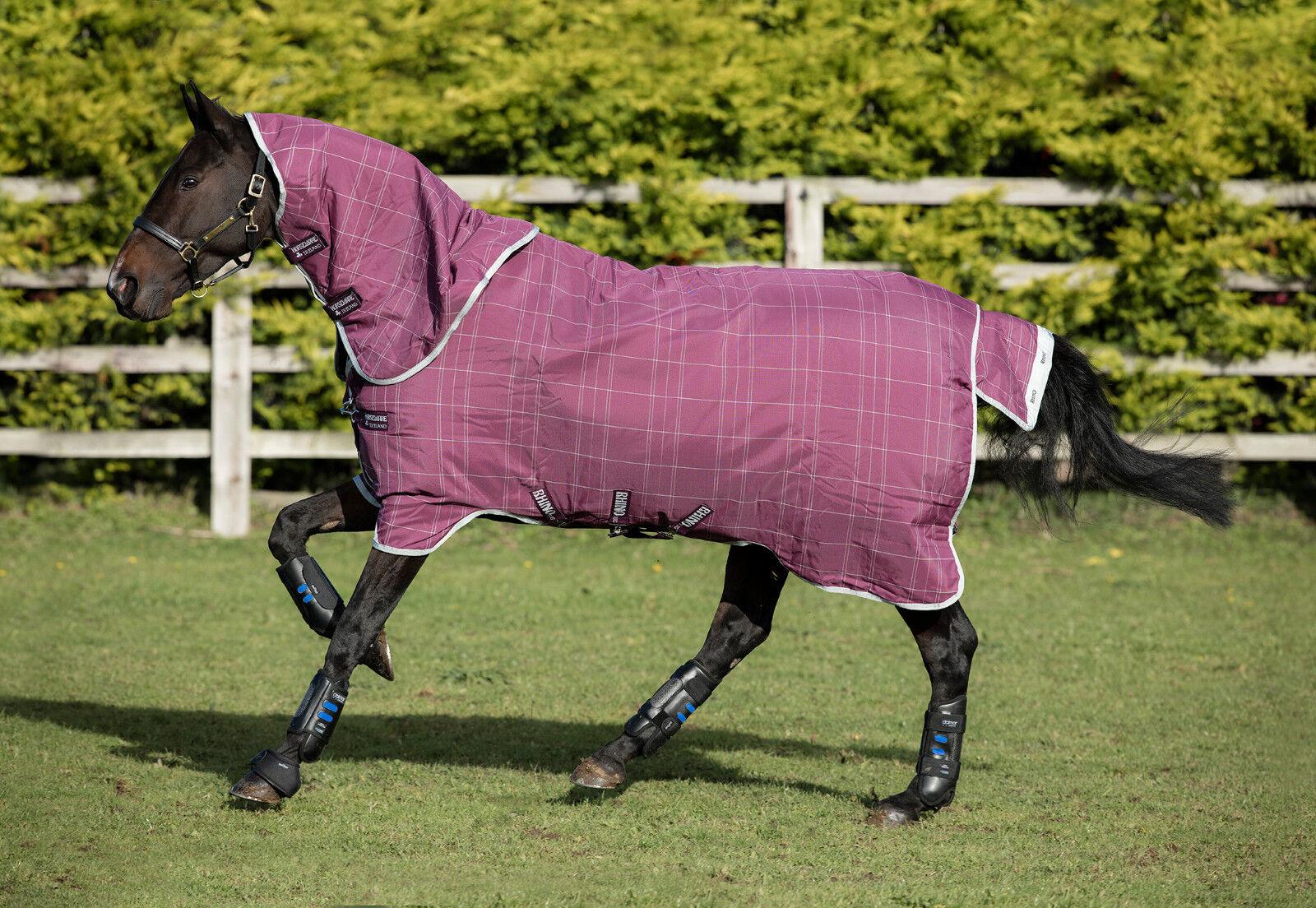 Horseware Rhino Plus Plus Rhino Turnout lite - mit abnehmbaren Halsteil, linerkompatibel fdf0dd