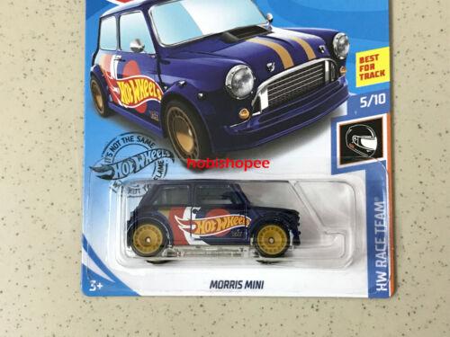 2019 Hot Wheels Super Treasure Hunt STH US CARD /> Morris Mini
