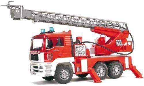 Bruder Nutzfahrzeuge 02771    Feuerwehr mit Drehleiter, Licht & Sound  NEU OVP  | Stil  0a5415