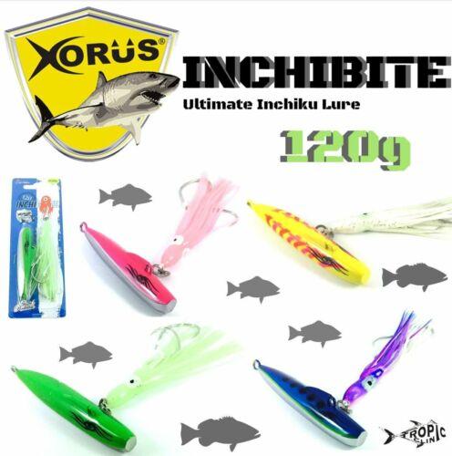 XORUS DEEP SEA INCHIKU JIGGING LURE INCHIBITE 120g
