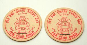 LA. ST CHARLES DAIRY MILK BOTTLE CAP NEW ORLEANS