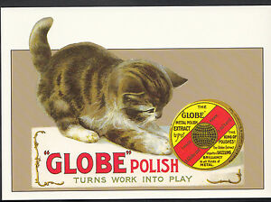 Advertising-Postcard-Globe-Metal-Polish-Series-Robert-Opie-Collection-A7798