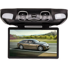 "Gray 15.6""  Car Roof Mount Overhead Monitor DVD Player Games FM USB SD"
