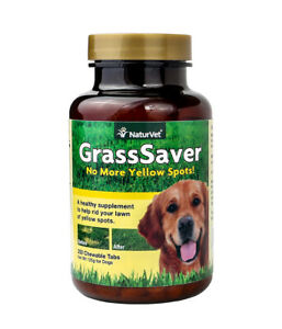 NaturVet-GrassSaver-Dog-Supplement-to-Get-Rid-of-Yellow-Lawn-Spots-250-Tablets