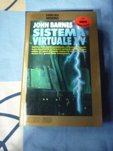 Sistema Virtuale XV John Barnes Cosmo Oro 151
