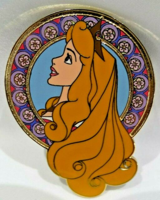 Disney Auctions Princess Profile Aurora (Sleeping Beauty) Limited Edition Pin