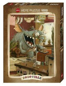 ZOZOVILLE - LAUNDRY DAY - Heye Puzzle 29865 - 1000 Teile Pcs.